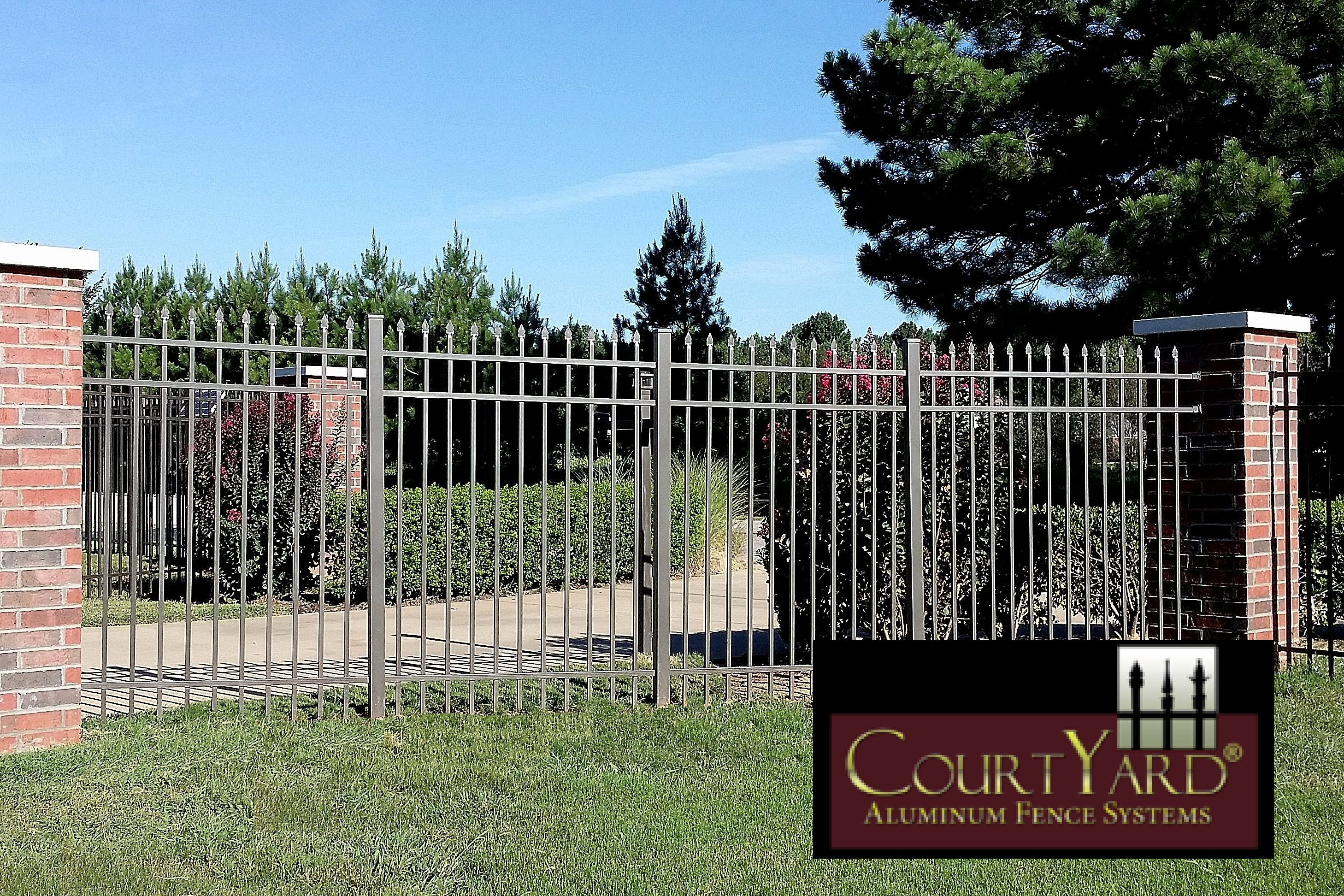 Steel Ornamental Fencing