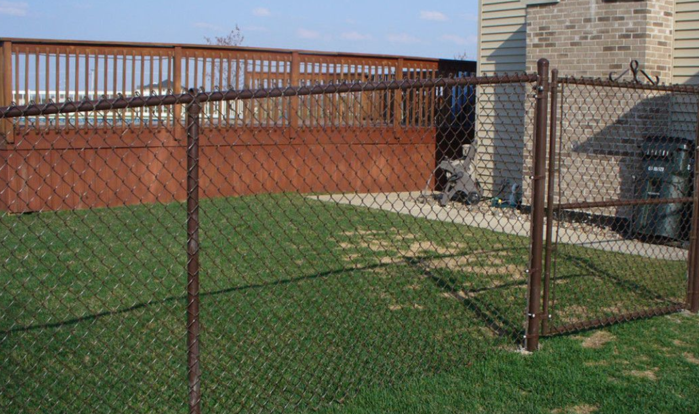 Vinyl Coated Chainlink Fencing