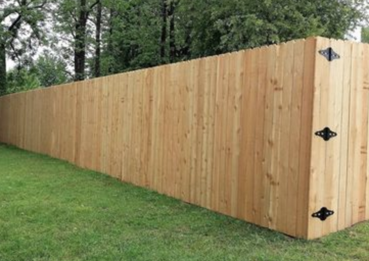 Wood Privacy Fencing